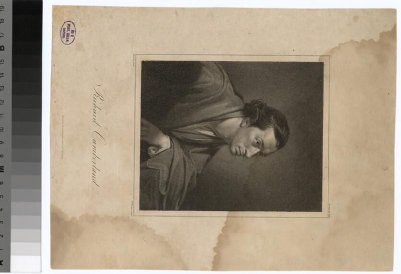 Portrait of R. Cumberland (WAHP30905)