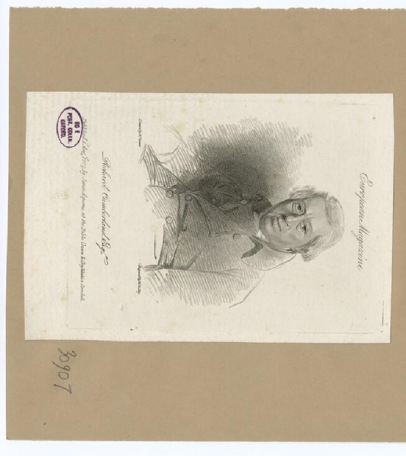 Portrait of Richard Cumberland