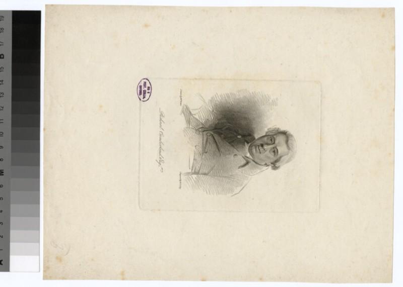 Portrait of R. Cumberland (WAHP30908)