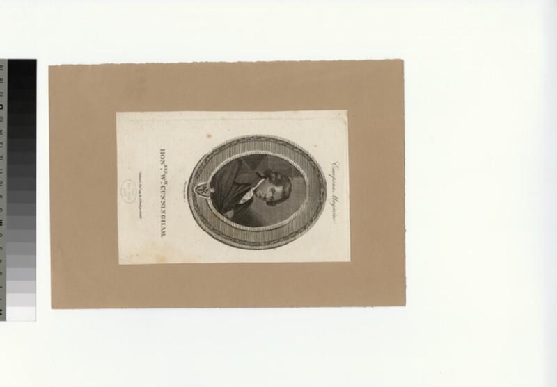 Portrait of W. Cunningham