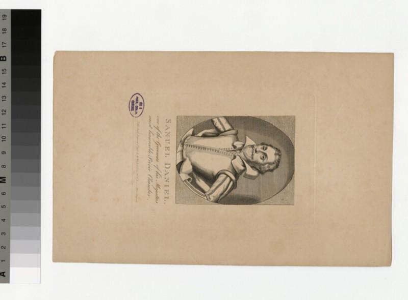 Portrait of Samuel Daniel