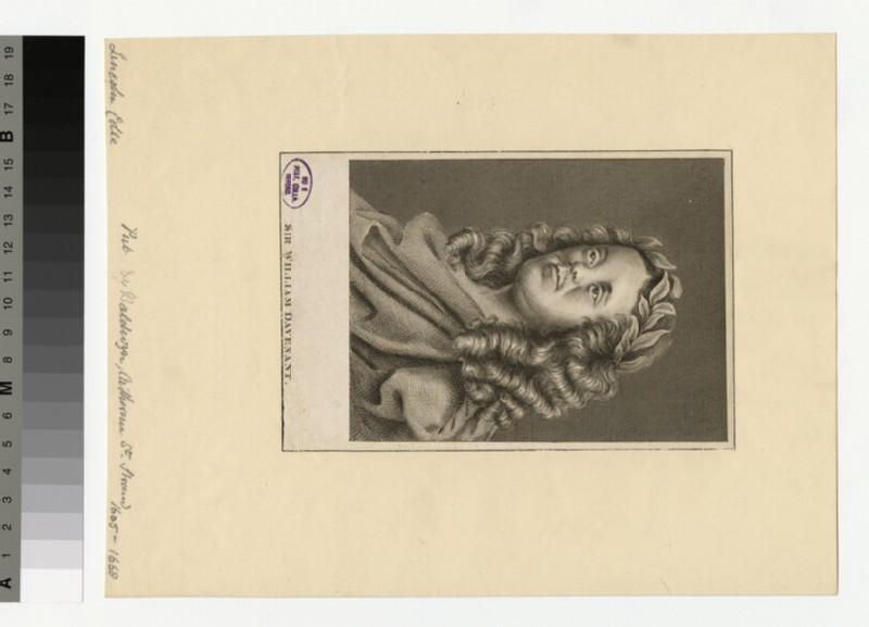 Portrait of W. Davenant