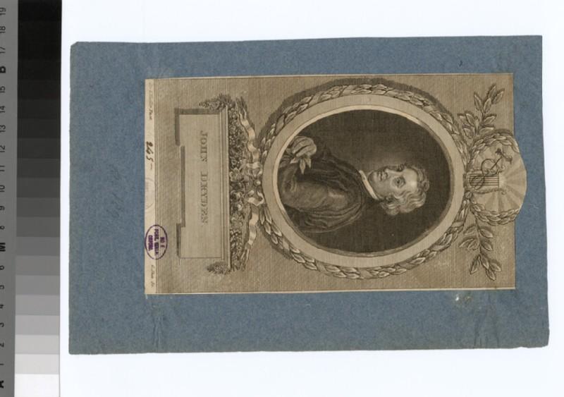 Portrait of Dryden (WAHP31060)