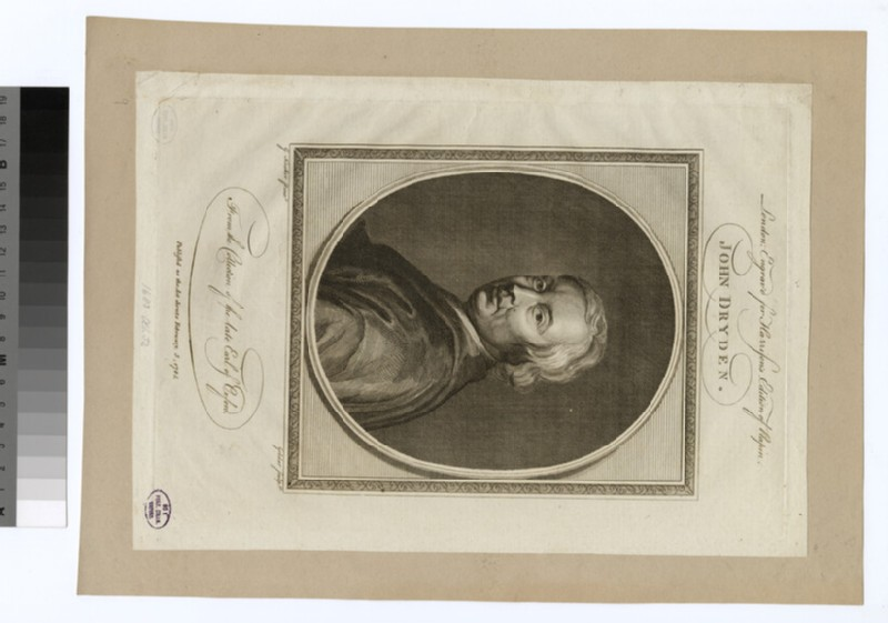 Portrait of J. Dryden (WAHP31068)