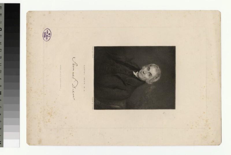 Portrait of S. Drew