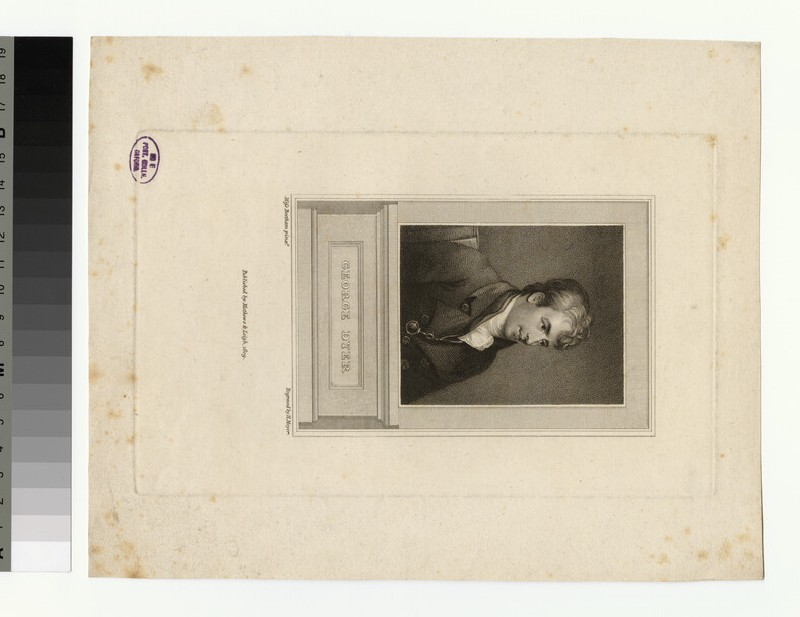 Portrait of G. Dyer