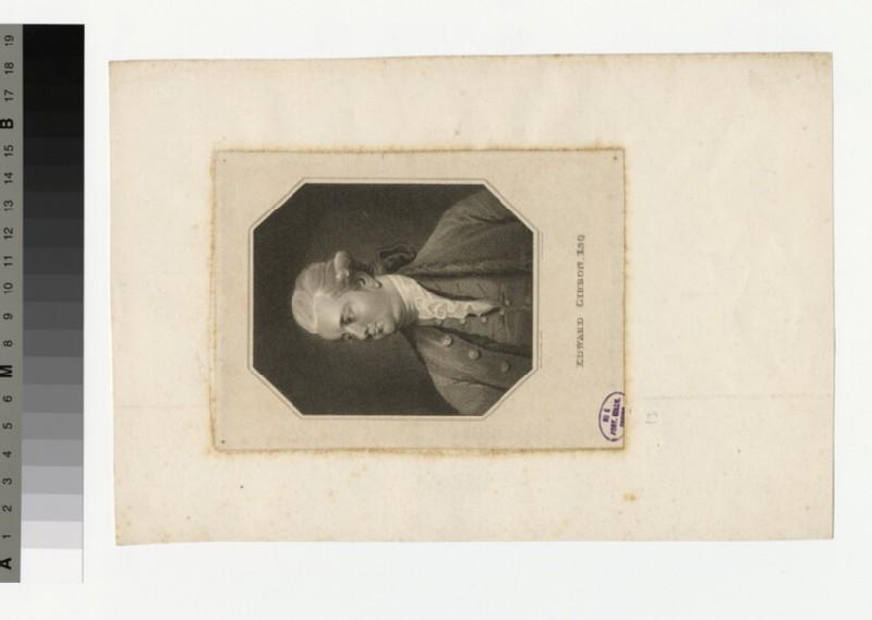 Portrait of Edward Gibbon (WAHP31253)
