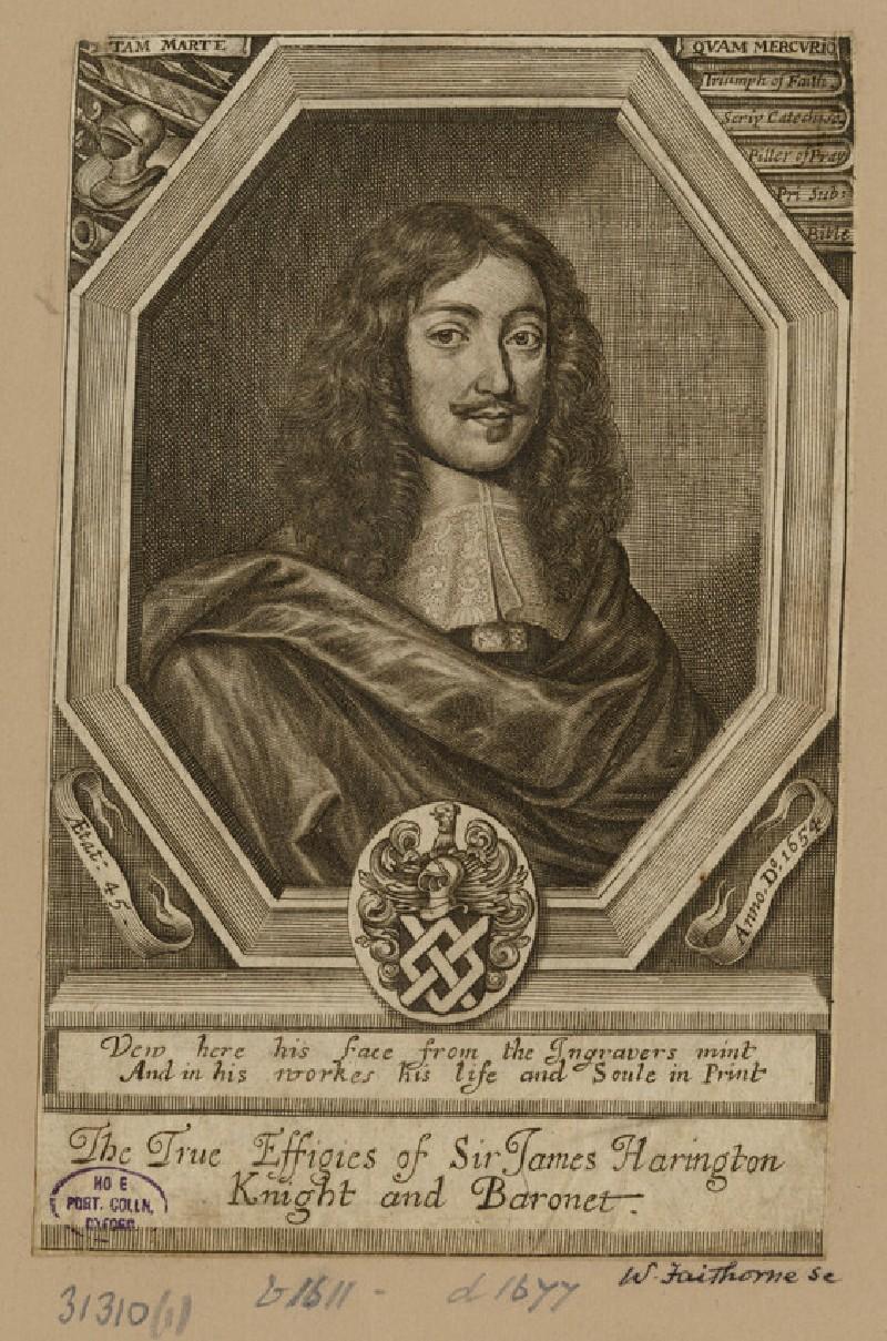 Portrait of J. Harrington
