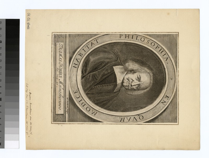 Portrait of Thomas Hobbes