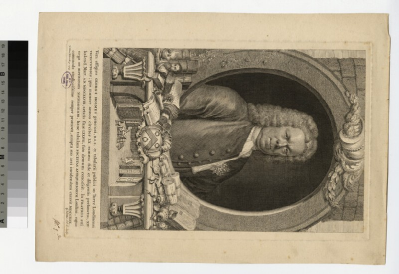 Portrait of George Holmes