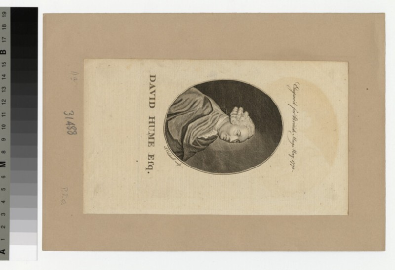 Portrait of D. Hume (WAHP31488)