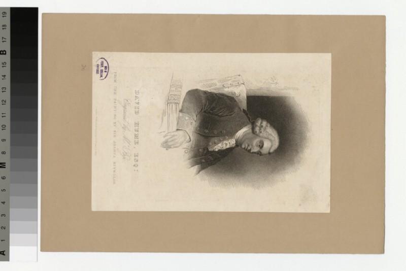 Portrait of D. Hume