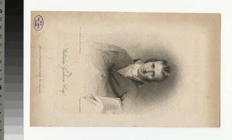 Portrait of W. Godwin