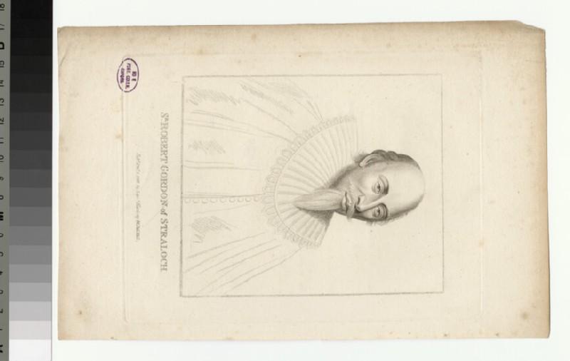 Portrait of R. Gordon of Straloch