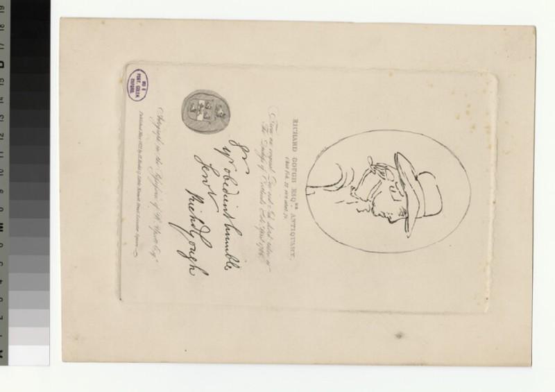 Portrait of R. Gough (WAHP31571)