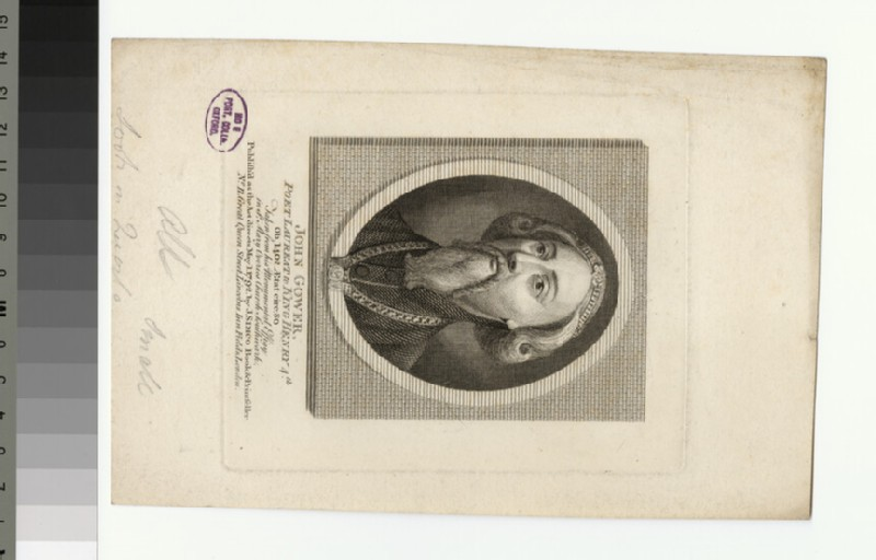 Portrait of J. Gower