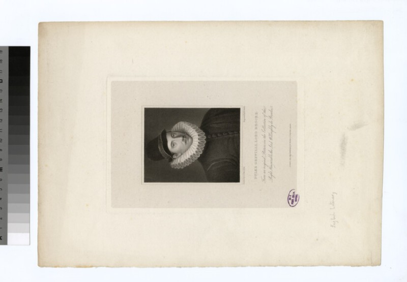 Portrait of F. Greville