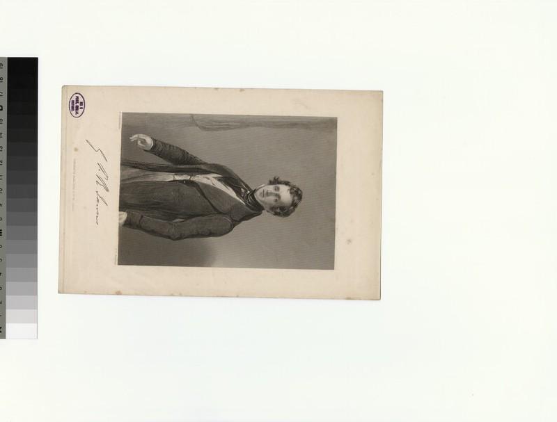 Portrait of G. P. R. James