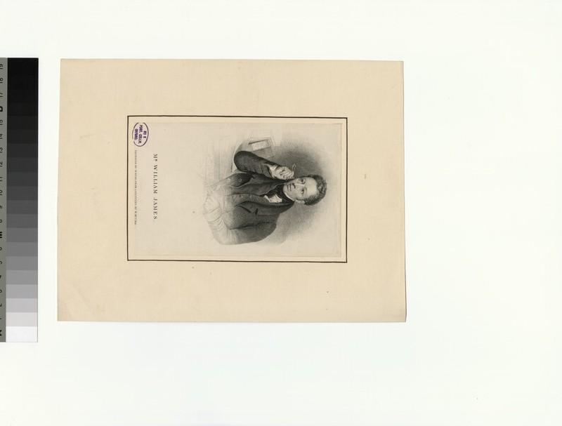 Portrait of W. James