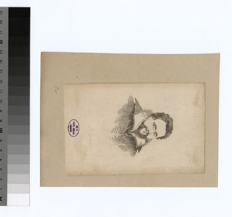 Portrait of B. Jonson