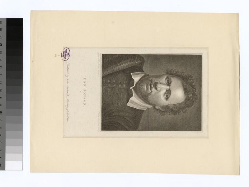 Portrait of B. Jonson (WAHP31735)