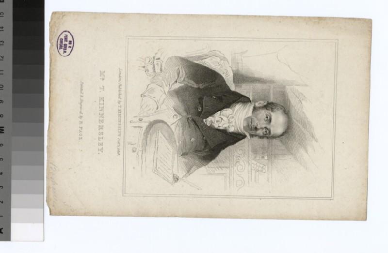 Portrait of T. Kinersley