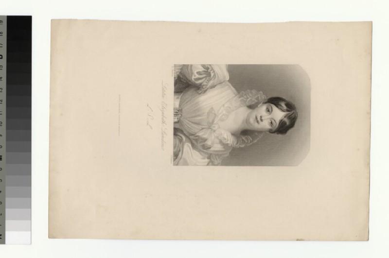 Portrait of Letitia Elizabeth Landon (WAHP31793)