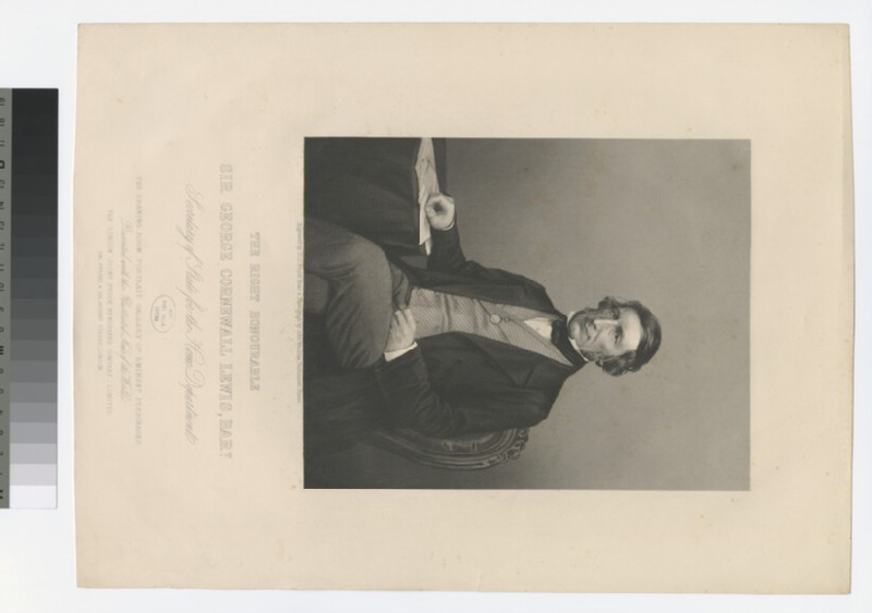 Portrait of G. C. Lewis