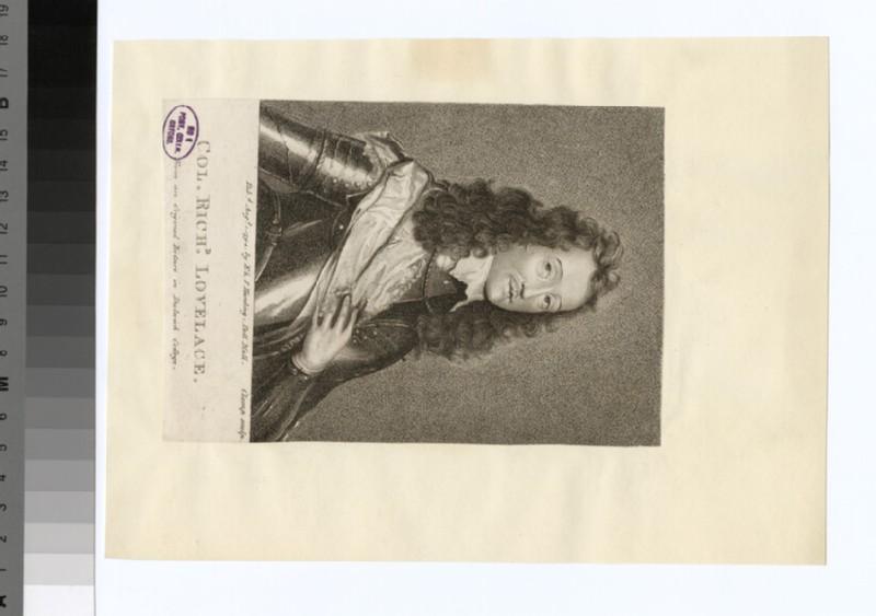 Portrait of R. Lovelace (WAHP31898)