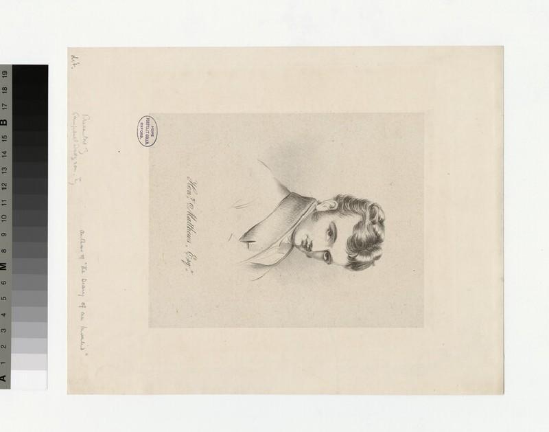 Portrait of Henry Matthews