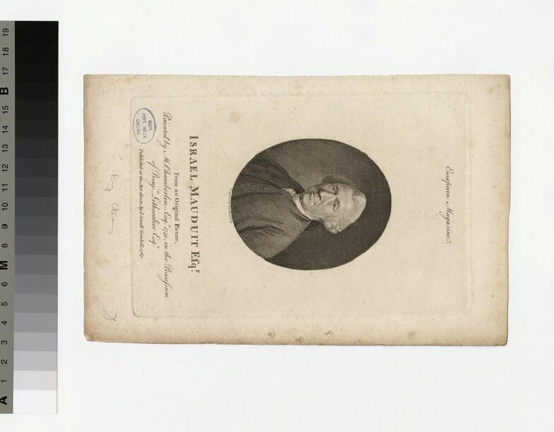 Portrait of I. Mauduit