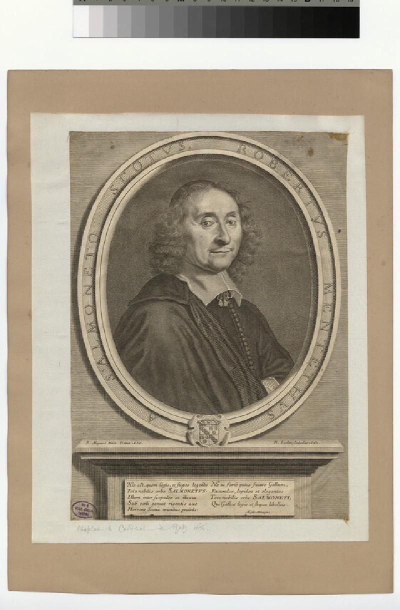 Portrait of Robertus Metetheus