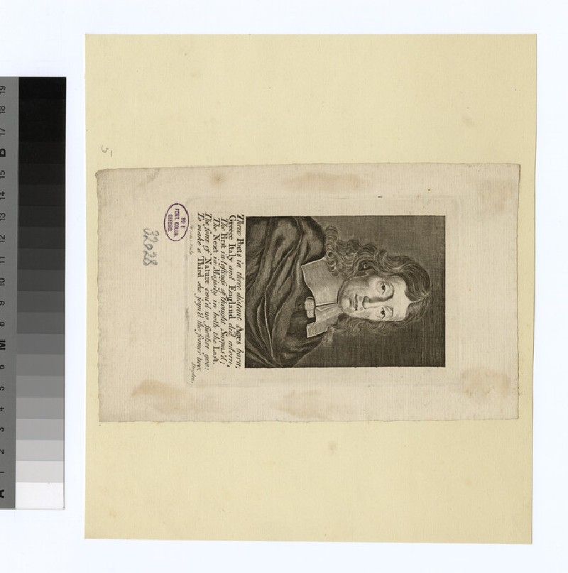 Portrait of John Milton (WAHP32028)