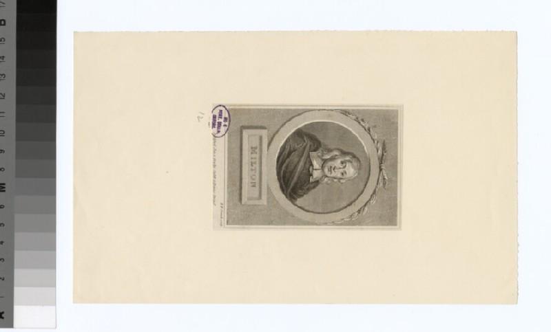Portrait of John Milton (WAHP32035)
