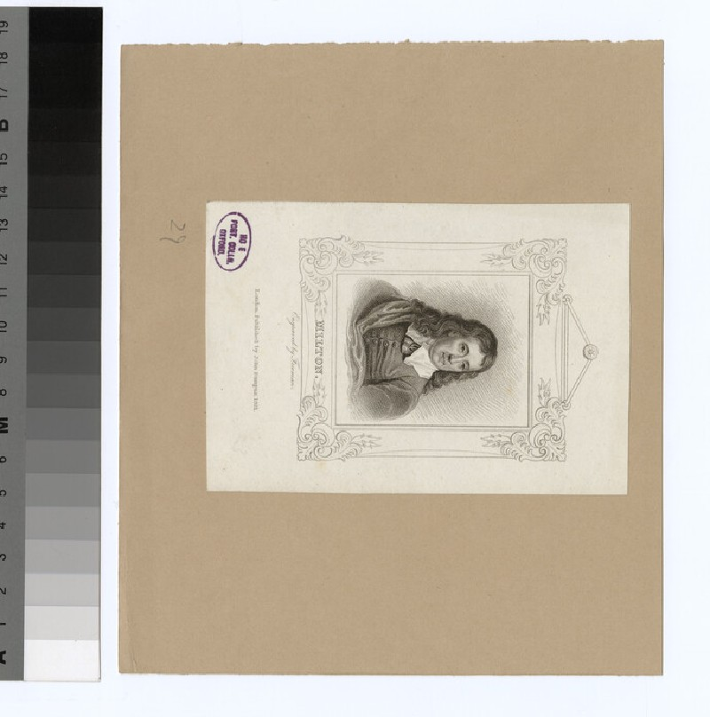 Portrait of John Milton (WAHP32054)