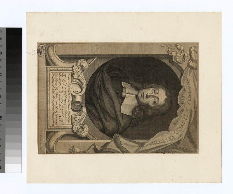 Portrait of John Milton (WAHP32062)