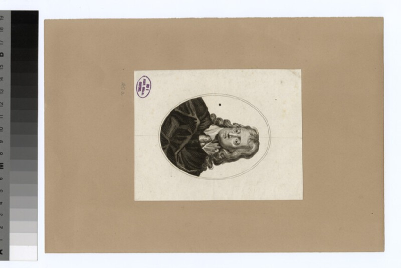 Portrait of John Milton (WAHP32066)