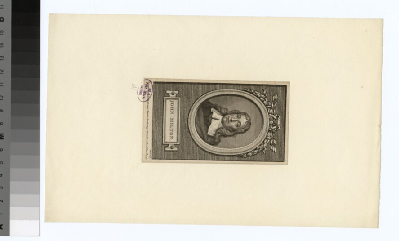 Portrait of John Milton (WAHP32068)