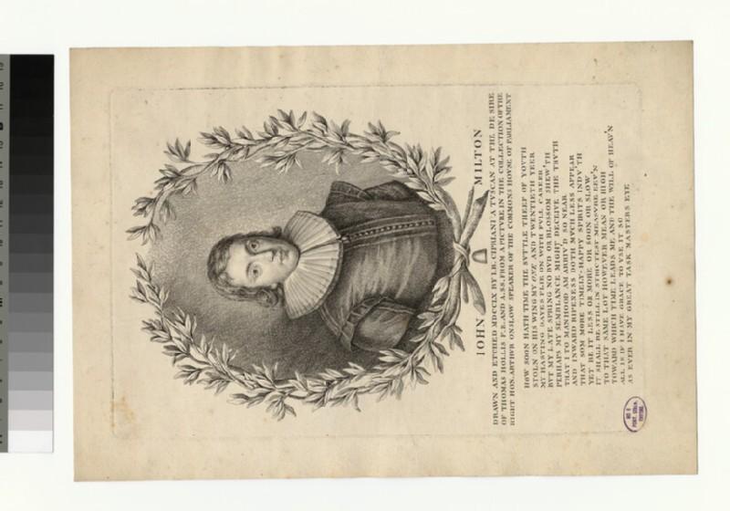 Portrait of John Milton (WAHP32076)