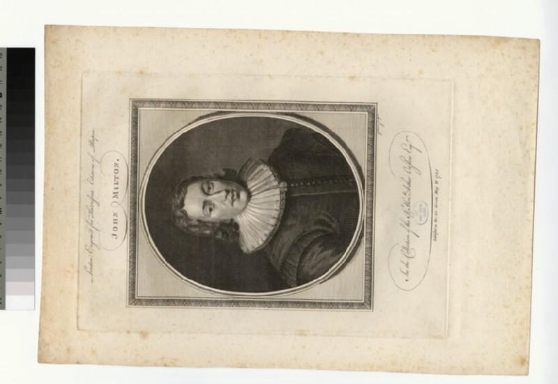 Portrait of John Milton (WAHP32078)