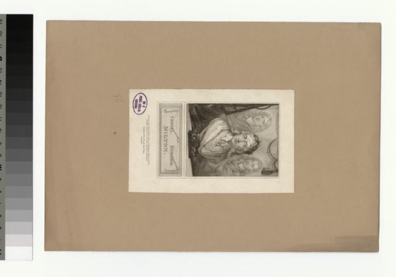 Portrait of John Milton, Abraham Cowley and John Dennam