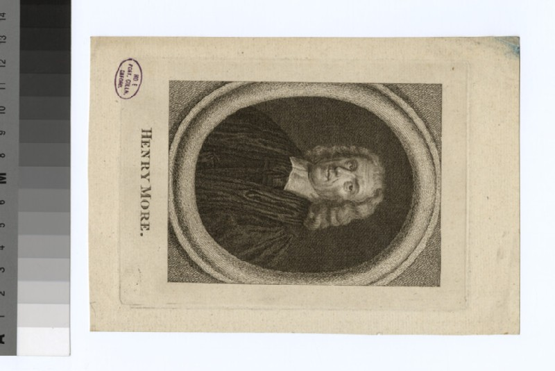 Portrait of H. More (WAHP32167)
