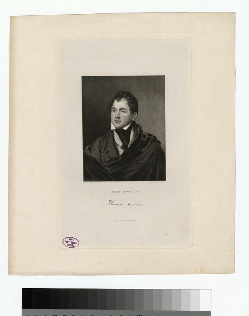 Portrait of T. Moore