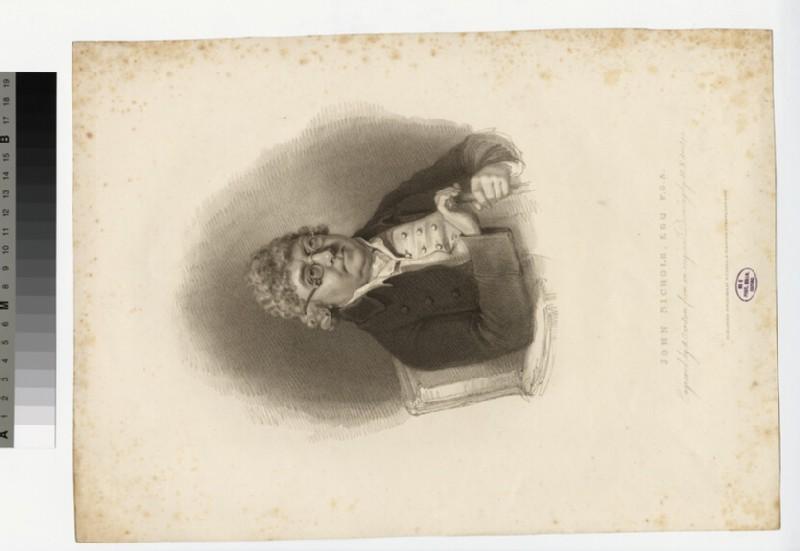 Portrait of John Nichols