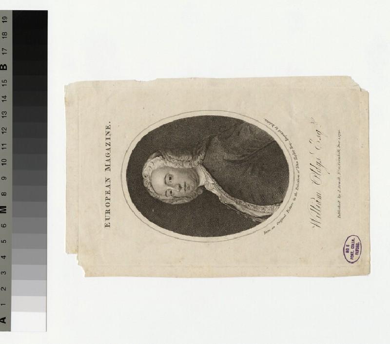 Portrait of W. Oldys