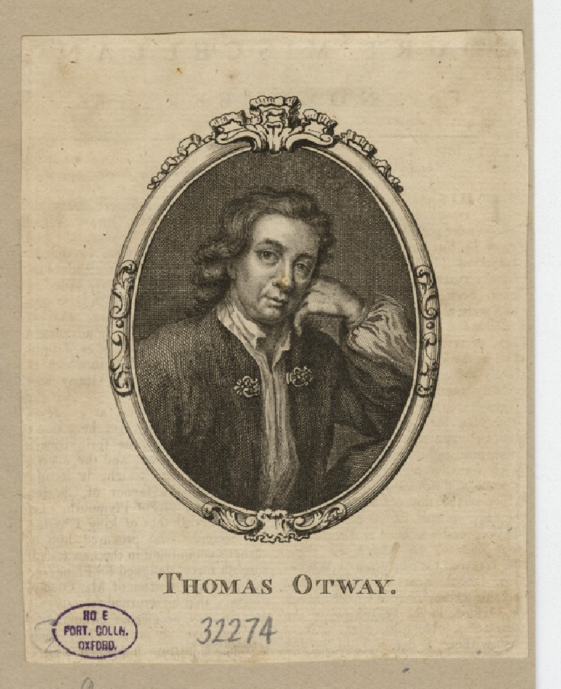 Portrait of T. Otway (WAHP32274)