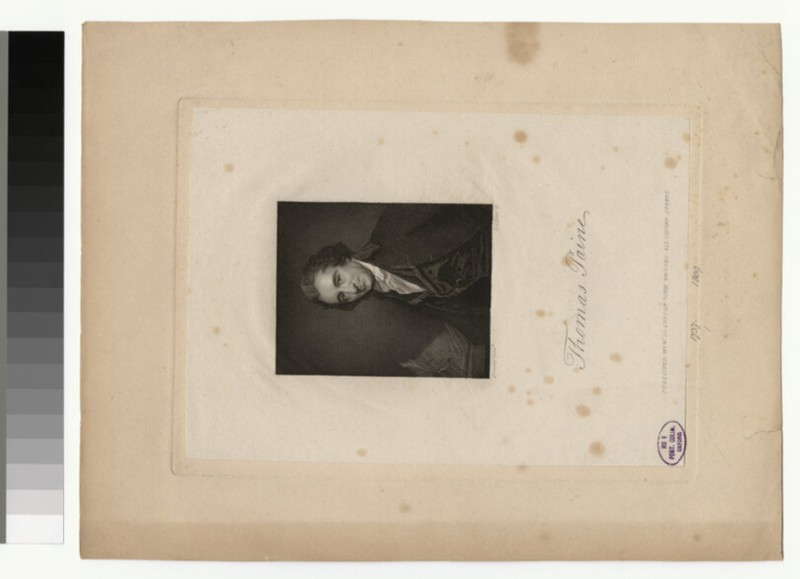 Portrait of T. Paine (WAHP32297)