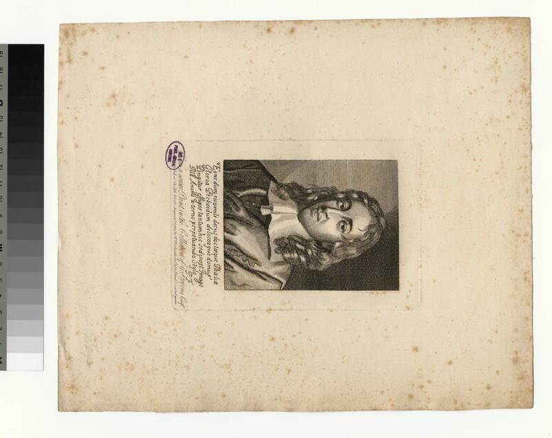 Portrait of T. Pecke