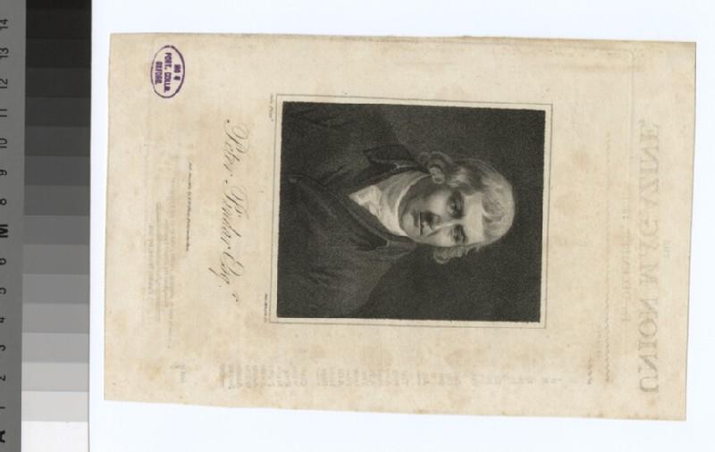 Portrait of P. Pindar (WAHP32342)