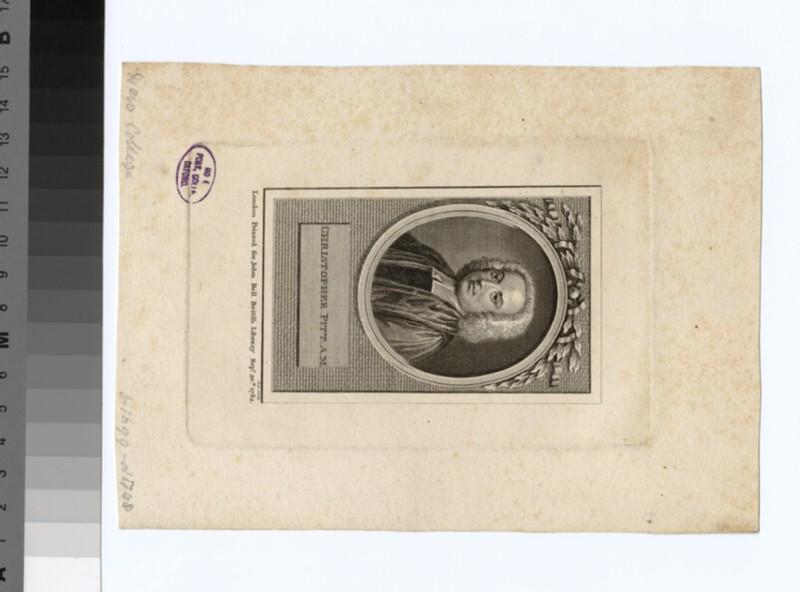 Portrait of C. Pitt